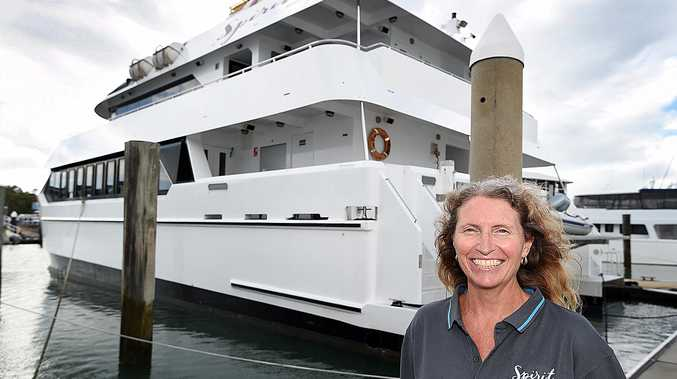 BEAMING BRIGHT: Spirit of Hervey Bay manager Bobbie Hayter is looking forward to the upcoming whale watching season.
