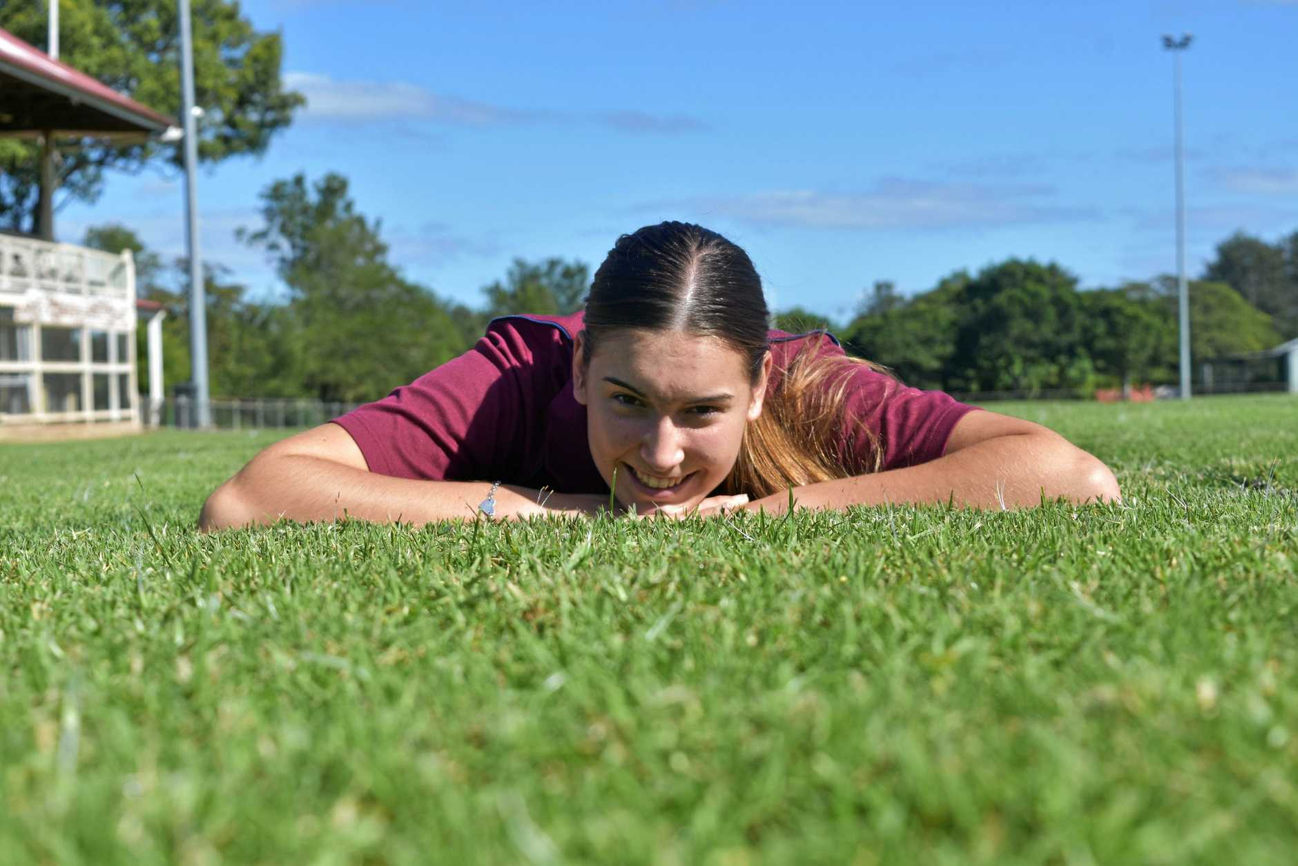 Gympie Athletics - Chantelle Chippindall.