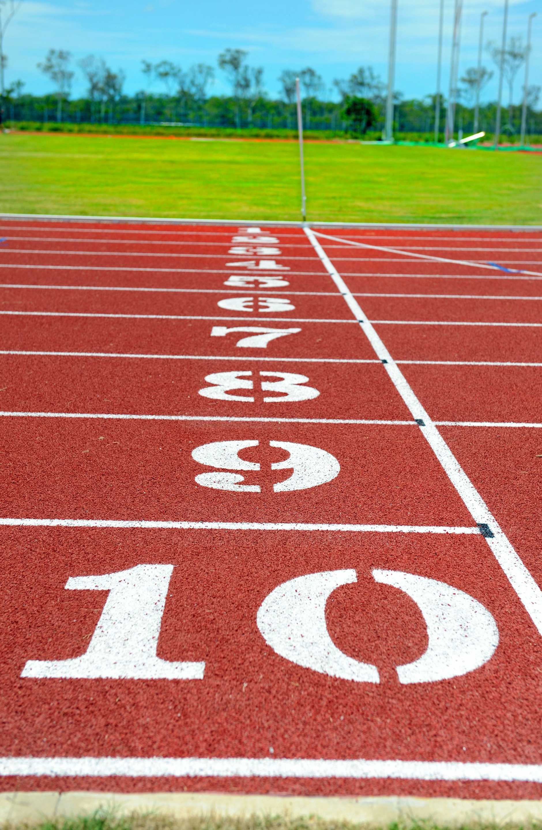 NEARLY DONE: The countdown is on to the first meet at the Bundaberg Athletics new facilities. Photo: Ben Turnbull / NewsMail
