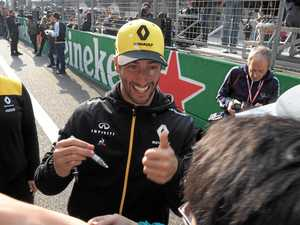 Ricciardo takes seventh spot on the grid in China