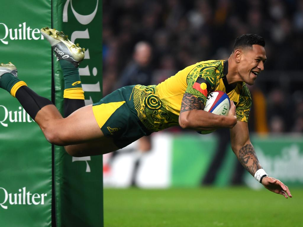 Folau found the tryline with remarkable consistency.