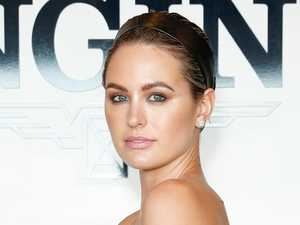Jesinta Franklin turns heads at races