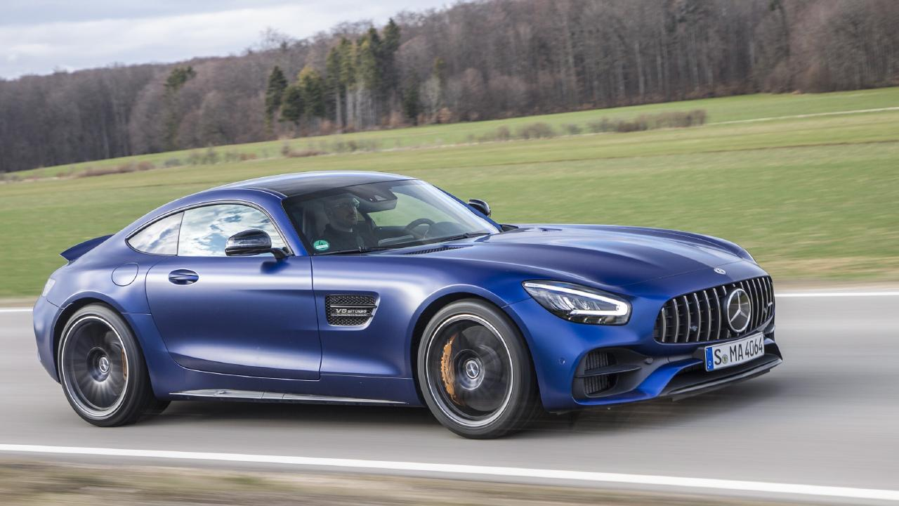 Mercedes-AMG GT C Coupe.