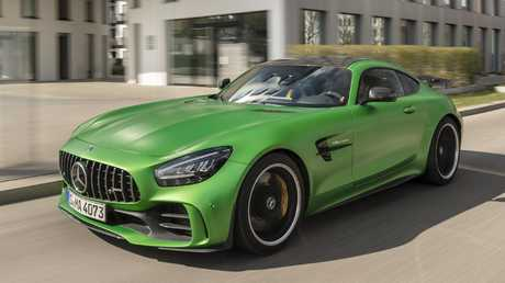 The Mercedes-AMG GT R sits atop the local range.