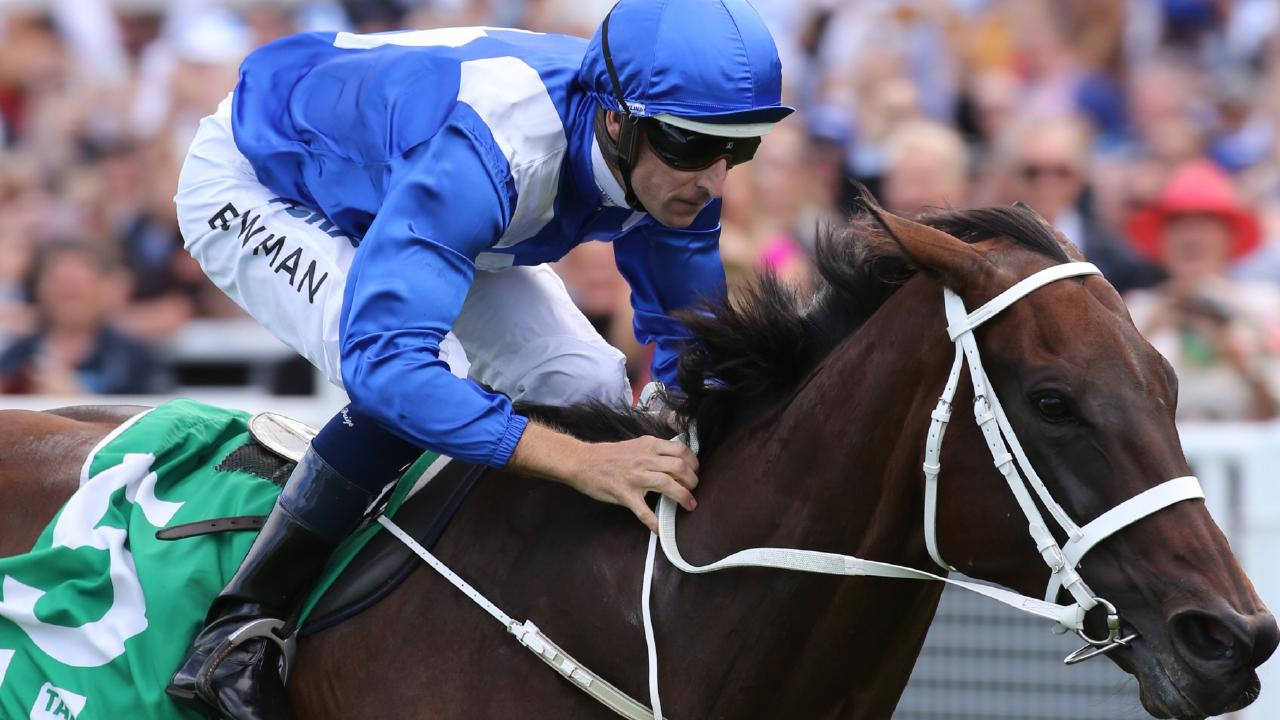 Winx has gone out a winner before a record crowd at Royal Randwick. Picture Rohan Kelly