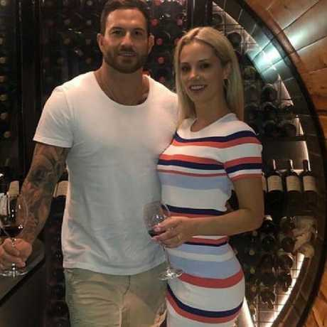 Daniel Webb and Jessika Power found love after having an 'affair' but their romance crumbled after the final episode aired. Picture: Instagram