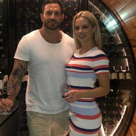 Daniel Webb claimed yesterday his short-lived romance with Jessika Power was 'toxic'. Photo: Instagram