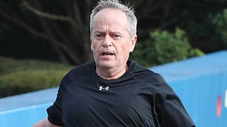Shorten is a keen runner.