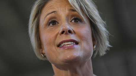 Labor Senator Kristina Keneally says an apology from Peter Dutton would be a 'good first step' (AAP Image/Lukas Coch)