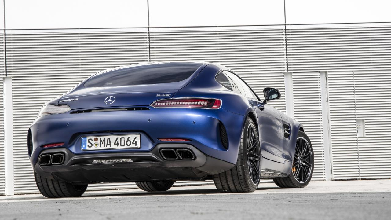 The GT C is fast, loud and fun to drive.