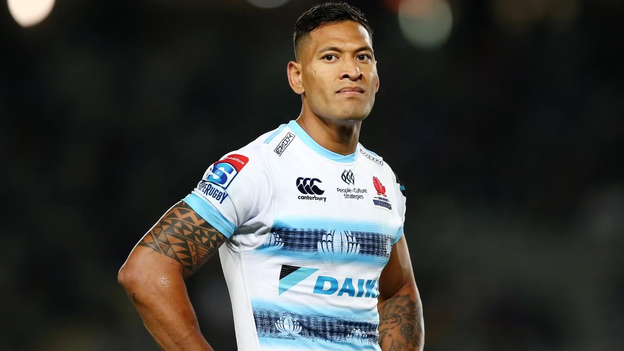 Where did it all go wrong for Israel Folau? Picture: Anthony Au-Yeung/Getty