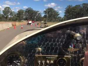 Virtual lap at Wondai Sprints