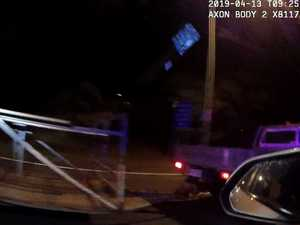 VIDEO: Stolen trolley trailer sparks Bruce Hwy police chase