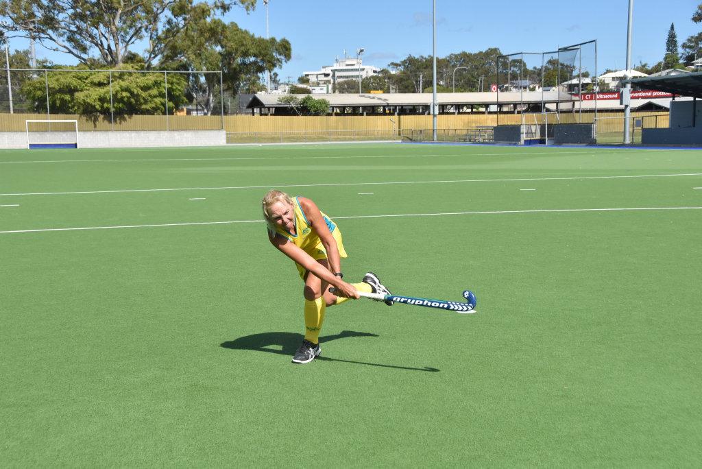 Terri Read will represent Australia Over-55s at the Hockey Australia
