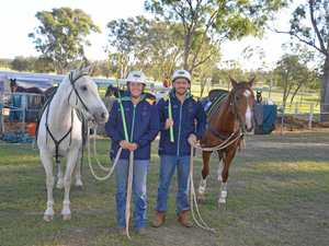 Siblings in town for Polocrosse World Cup with 34 horses