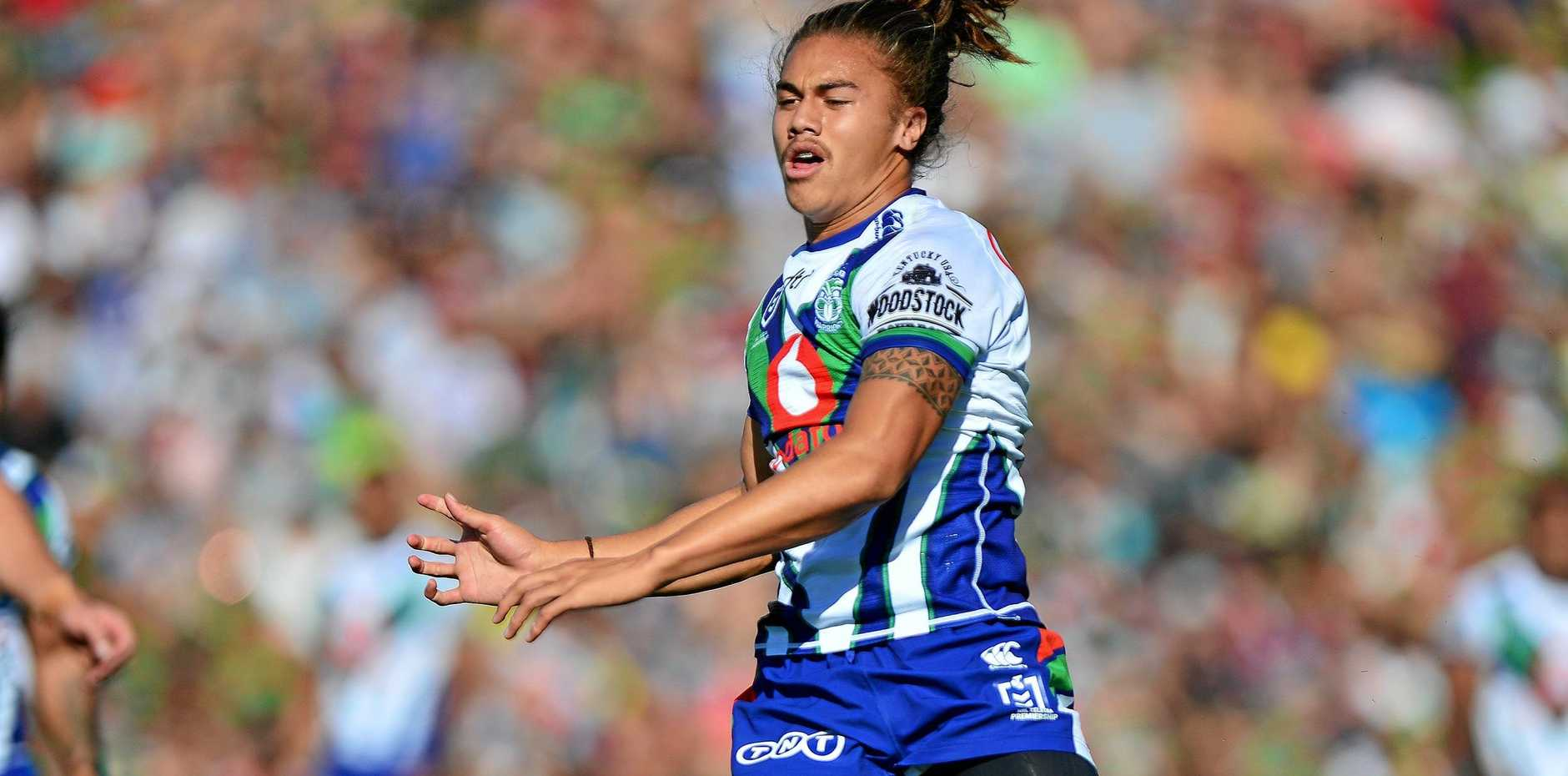 TALENTED: Warriors pivot Chanel Harris-Tavita.