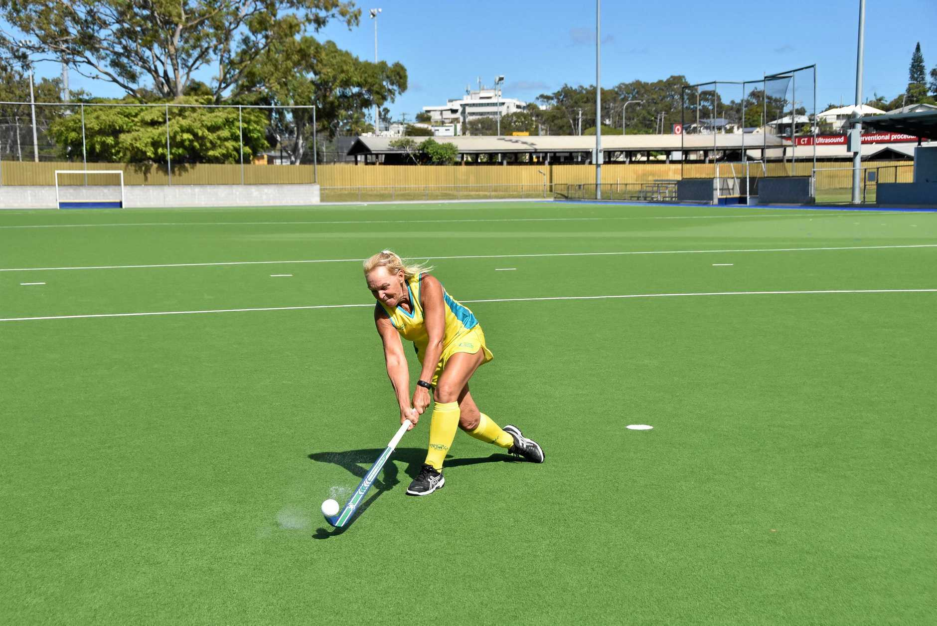 Terri Read will represent Australia Over-55s at the Hockey Australia Masters 2019 Trans Tasman Challenge on the Gold Coast.