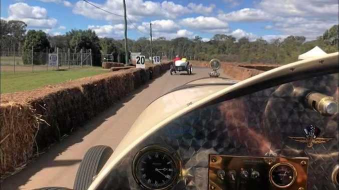 WATCH: Enjoy a virtual lap at the Wondai Sprints in a 1917 Hudson.