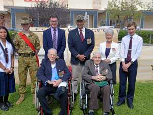 Memorial wall/dais opened as part of Leslie Park precinct
