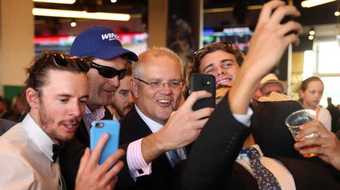 The PM at the races.
