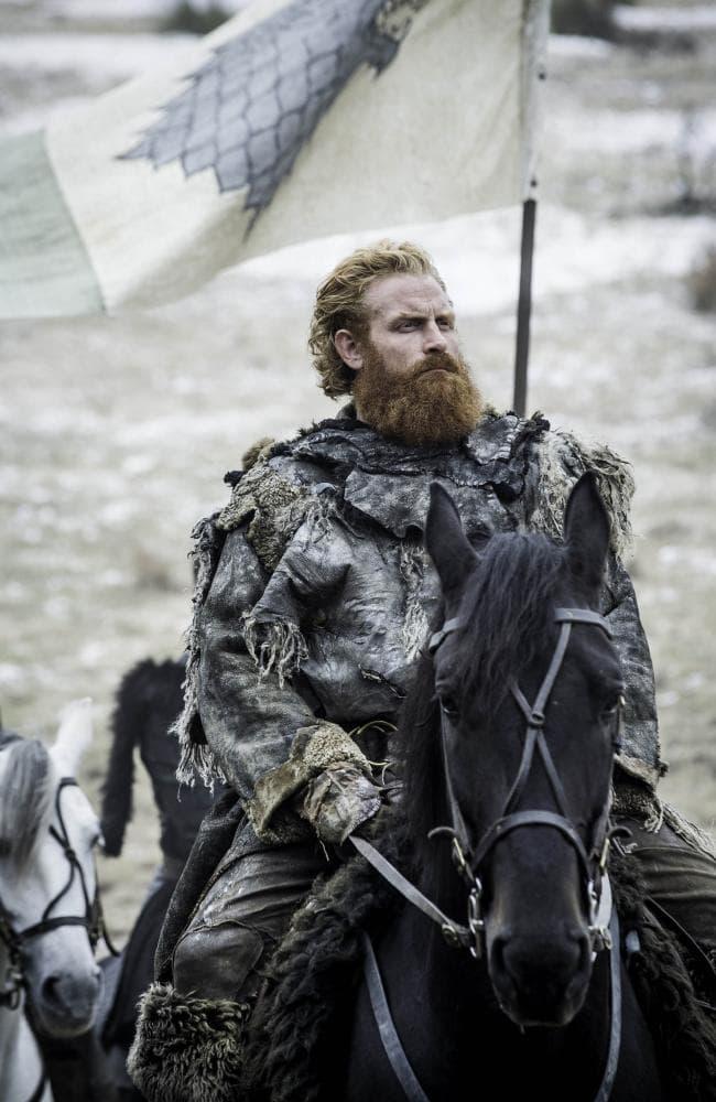 Kristofer Hivju in Game of Thrones final season. Picture: Helen Sloan/HBO