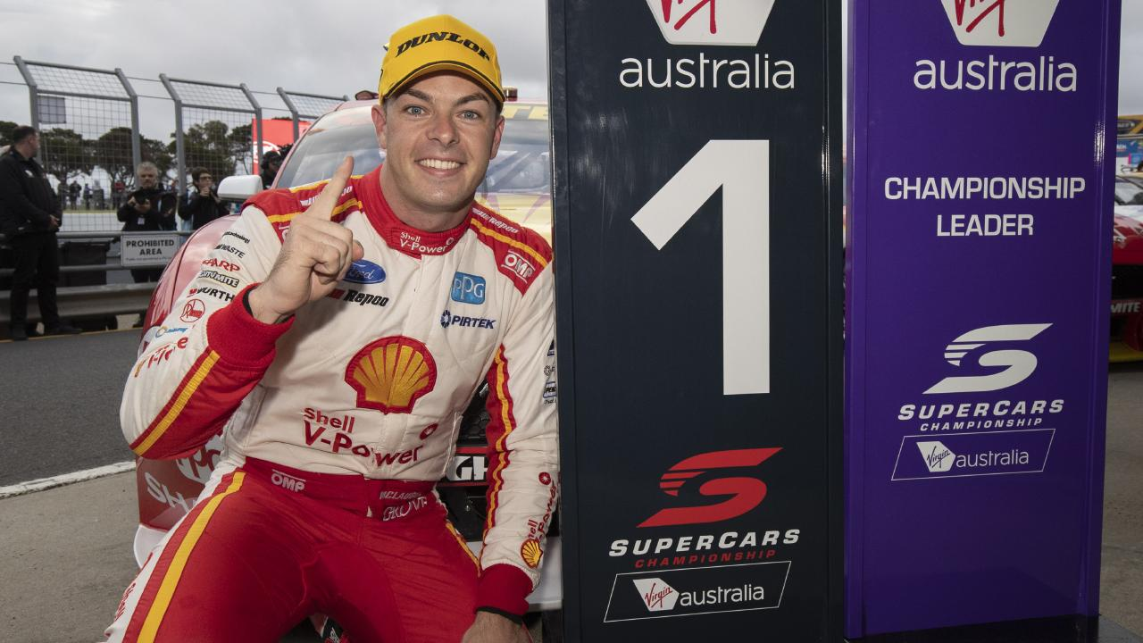 Scott McLaughlin is a clear No.1. Picture: AAP