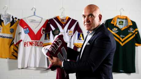 Gorden Tallis stands by his criticism of the Broncos. Picture: Adam Head