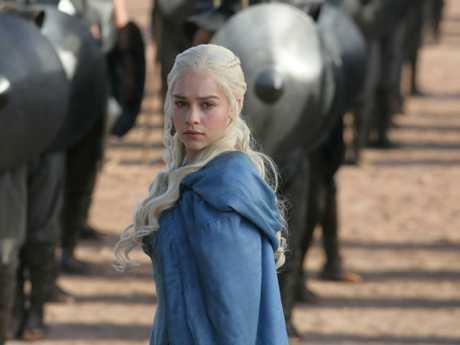 Emilia Clarke wasn't in the original show. Picture: HBO