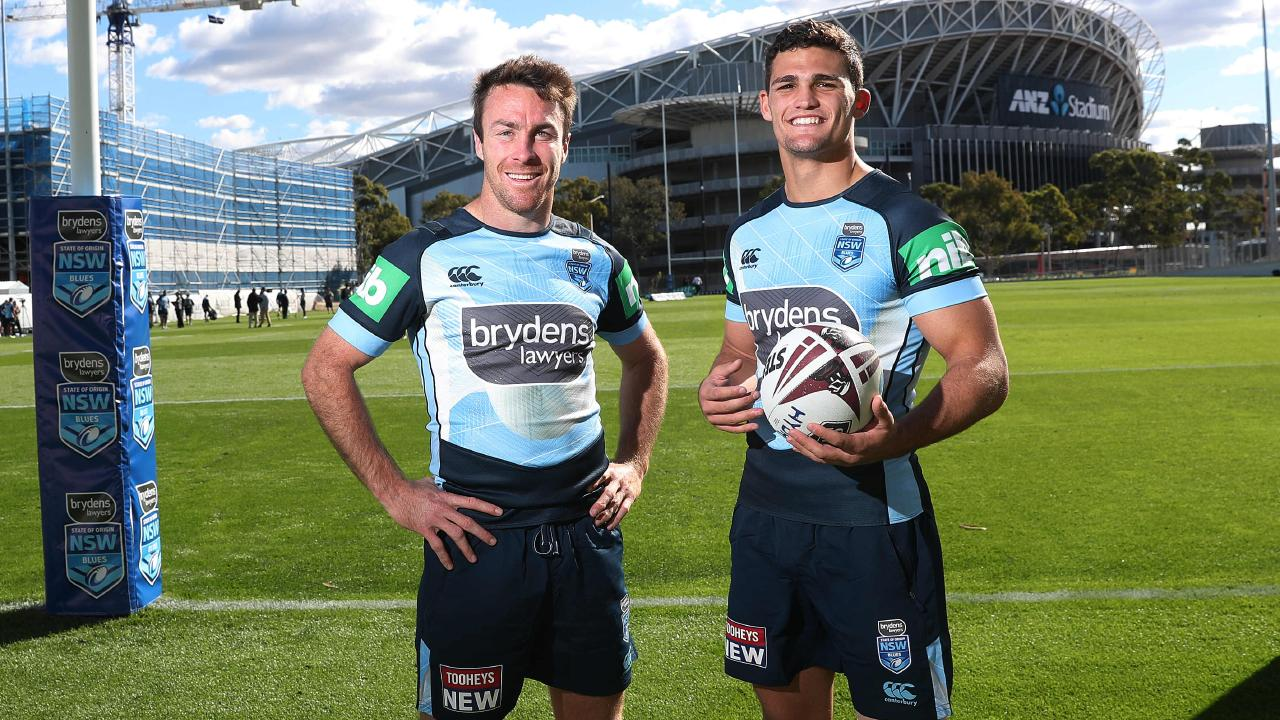 James Maloney and Nathan Cleary are feeling the heat. Picture: Phil Hillyard