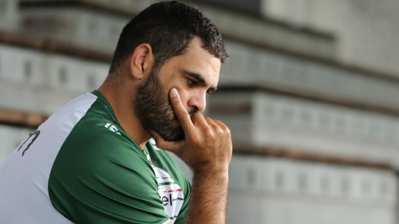 Greg Inglis is expected to call time on his illustrious NRL career. Picture: Tim Hunter