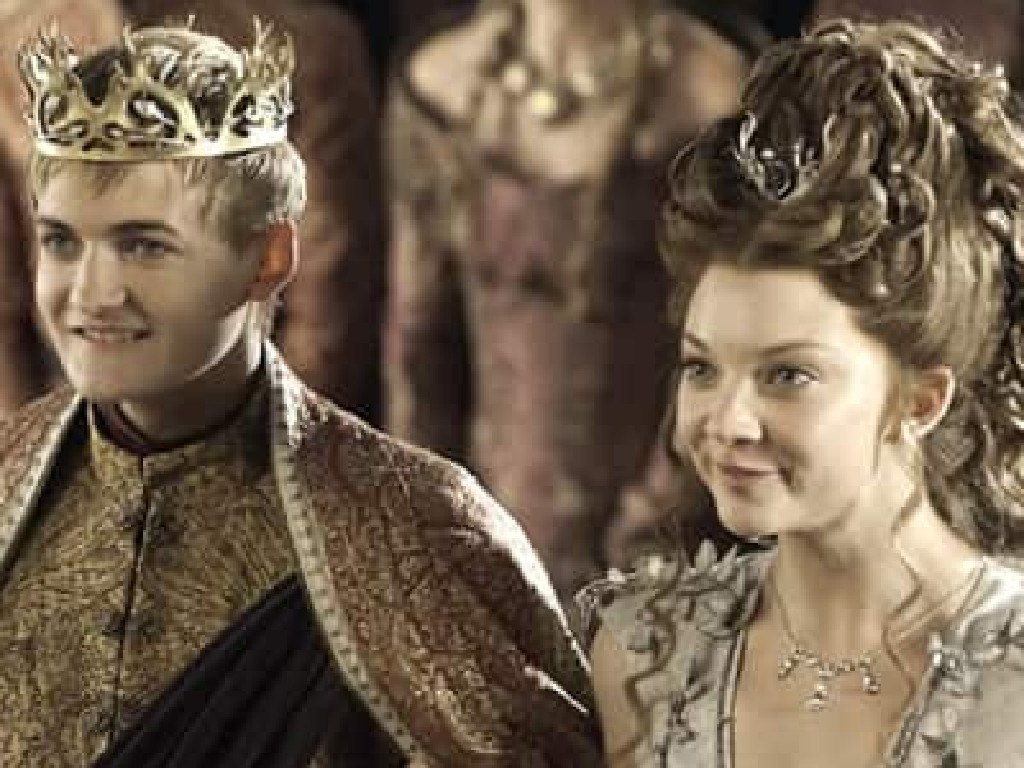 Joffrey and Margaery's Purple Wedding really happened. Picture: Supplied