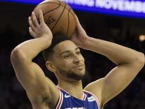 Simmons booed by 76ers fans in finals loss