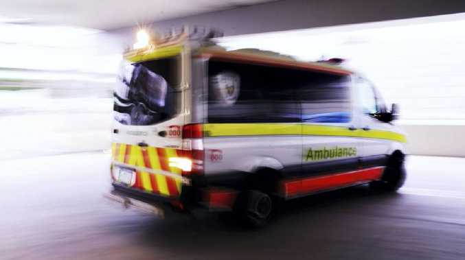INJURED: Two taken to hospital after crash in Maryborough