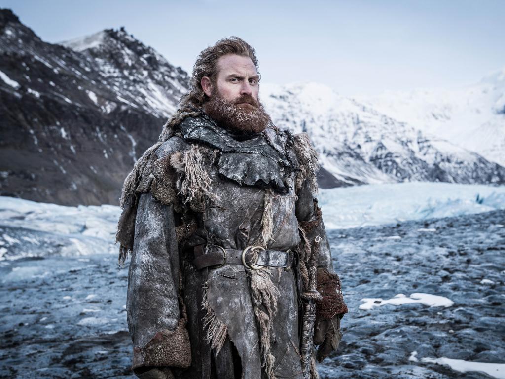 Hivju plays a fiery bearded warrior who leads the wildlings. Picture: Helen Sloan/HBO