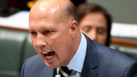 Mr Dutton has come under for his comments about Ms France. Picture: Tracey Nearmy/Getty Images