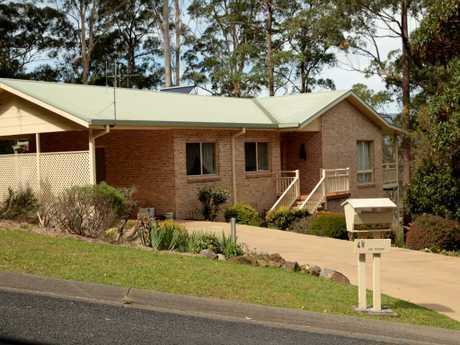 William's last known location, on Benaroon Drive, Kendall, on the NSW Mid North Coast.