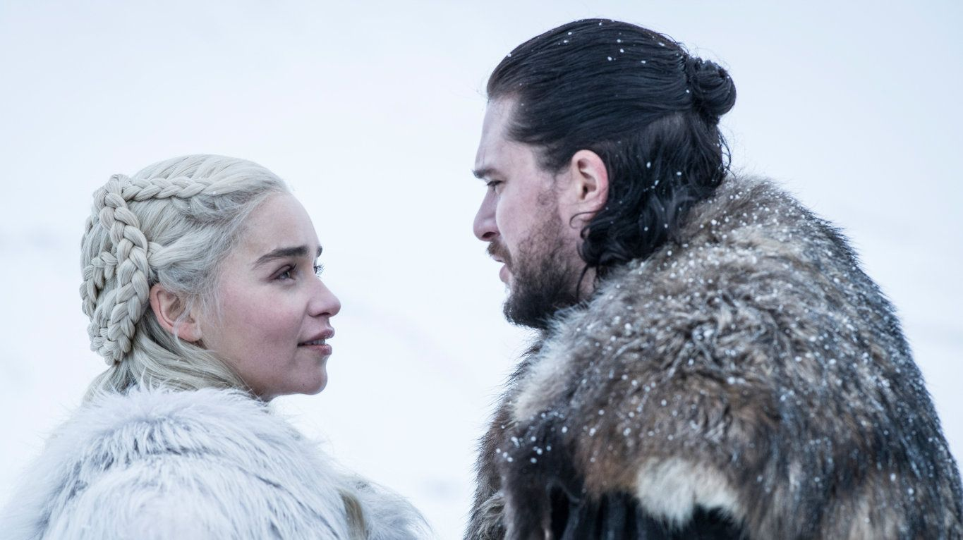 Jon Snow finally learns his new Queen/lover is his aunt in the season 8 premiere of Game of Thrones. What will he do with the news? Fans will have to wait until next week to find out.