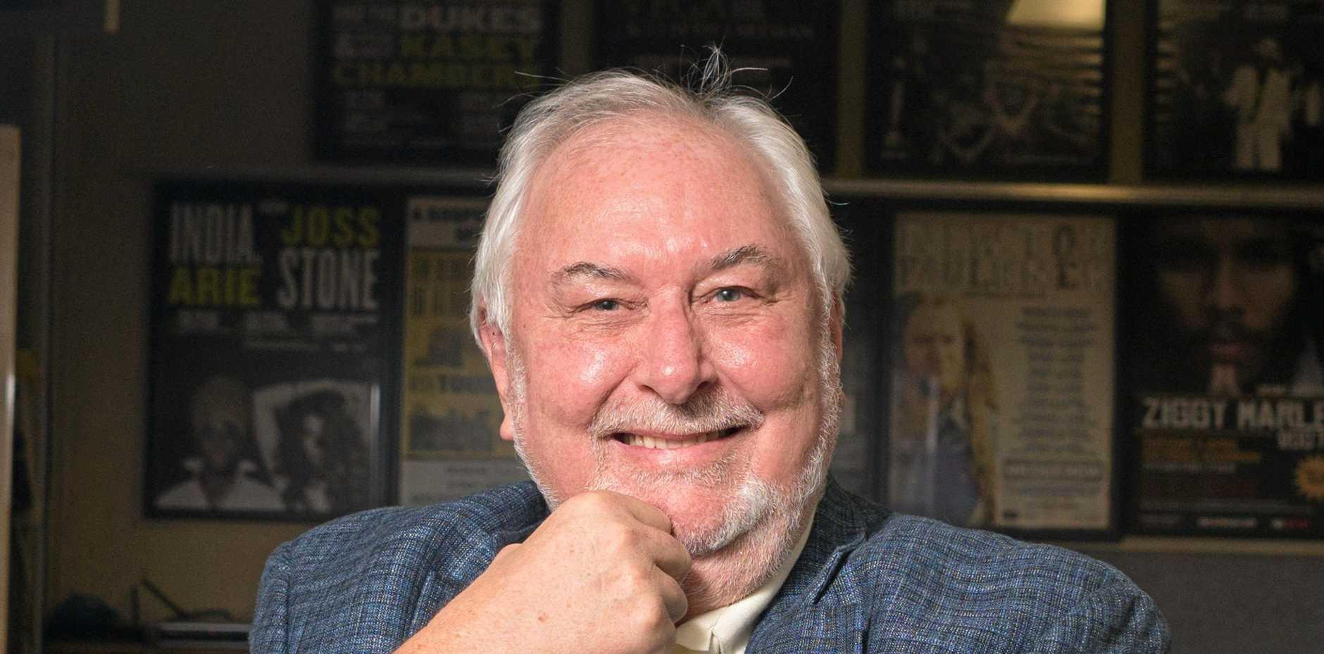 THE BOSS: Byron Bluesfest Festival Director Peter Noble.