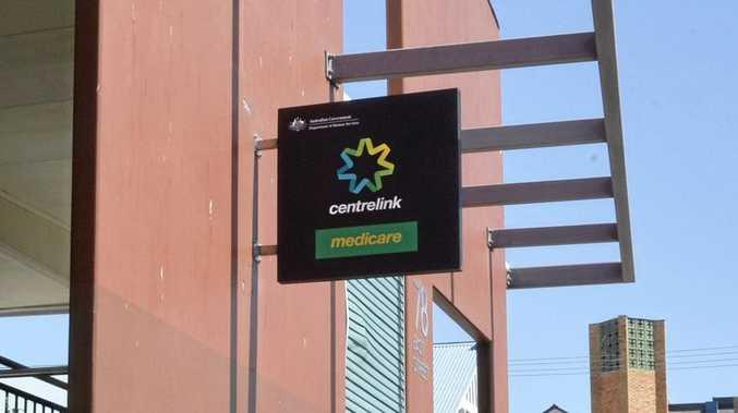 Centrelink, Ipswich. Photo Inga Williams / The Queensland Times