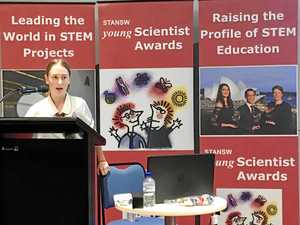 Student's findings lead her to the USA