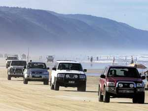 4WD's warned of high tides at Cooloola Coast this Easter