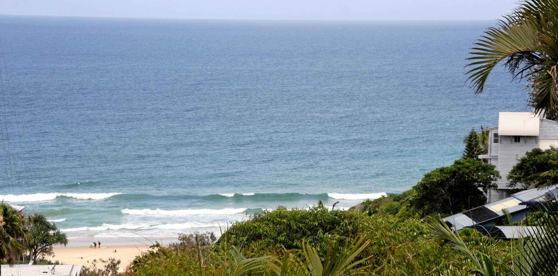 North Sunshine Beach residents are frustrated with poor television reception.