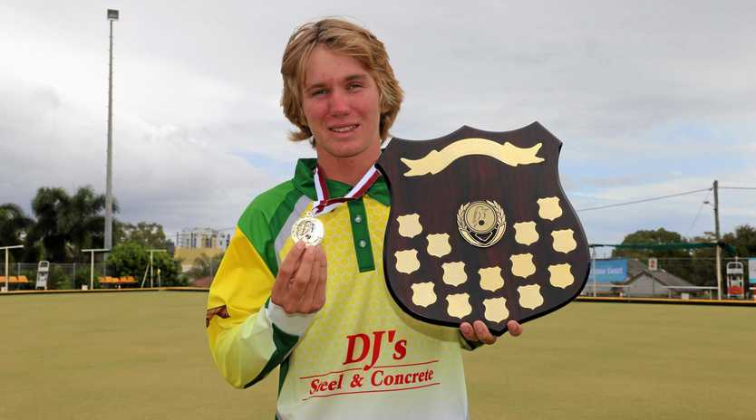 Monto bowler Shane Rideout was crowned U18 Singles Champion at the 2019 Junior State Championships in Caloundra.