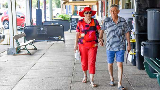Gayndah's Denise and Errol Lashford want police and council to begin enforcing the no cycling or skateboarding on Capper St rule.