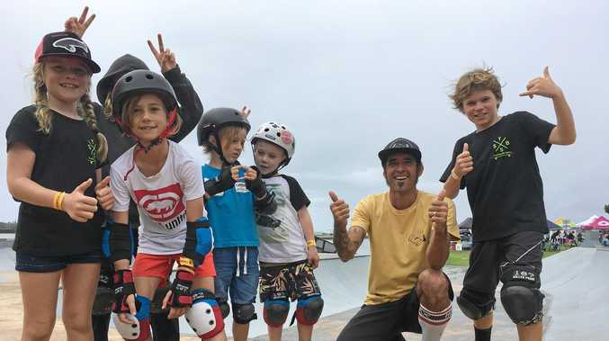 TruckStop Sk8 owner Tony Chavez celebrates youth week with Ballina's skateboard community by organising a fun day of events for kids.