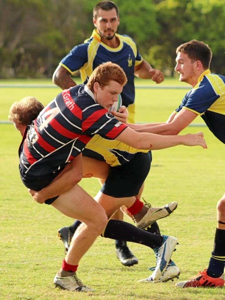 CRUNCH: Casuarina Beach showed their defensive might last weekend, defeating Bangalow.