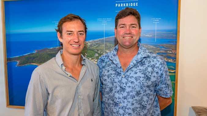 SOLAR POWER: Alex Rigby and Altum director Rob McCreedy.