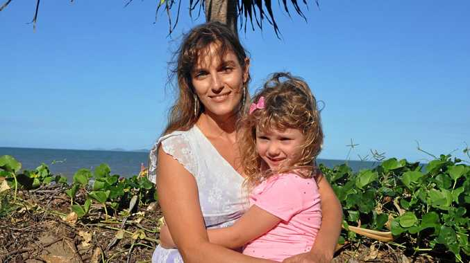 PLANT-BASED: Giada Bontempelli and her daughter Myla O'Brien.