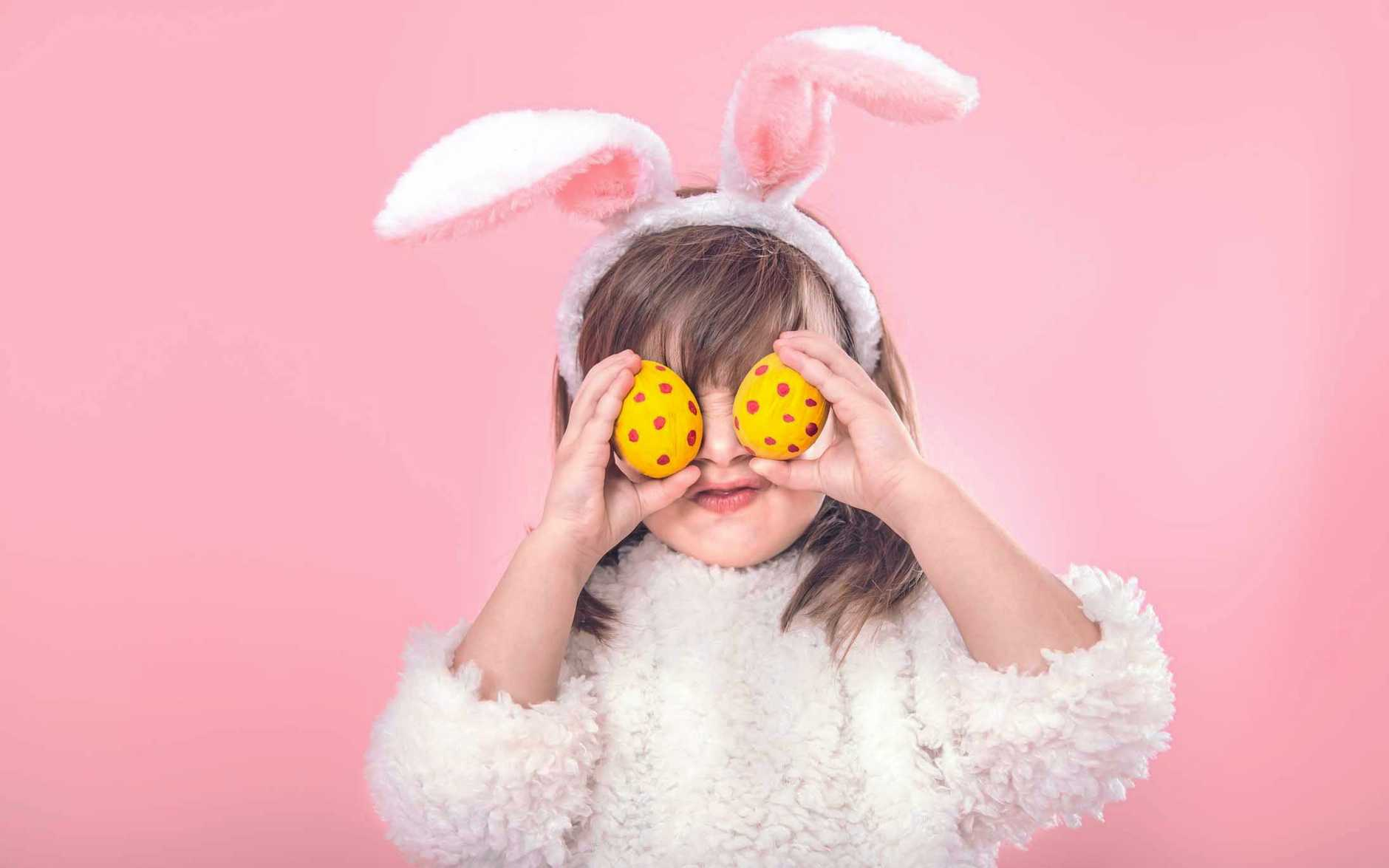 EASTER SPIRIT: South Burnett kids will have their chance to have a photo with the Easter Bunny this week.
