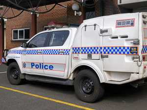 Police car damaged while officers on beat at Nanango Show